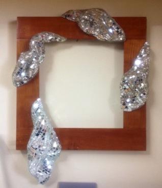 2013 cornice per specchio - mosaico